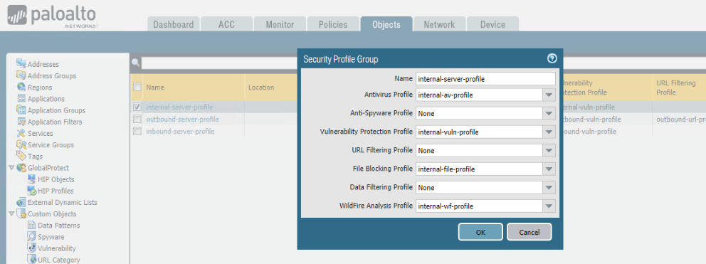 Palo Alto – Security Profiles – All Things Network